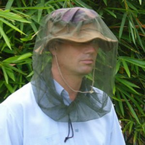 Mosquito Head Net, treated with EPA approved Insect Shield®