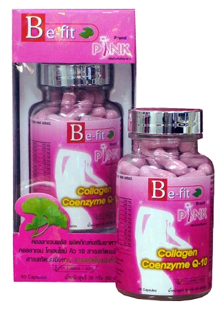 Be-Fit Collagen Plus Organic Marine Protein Capsules