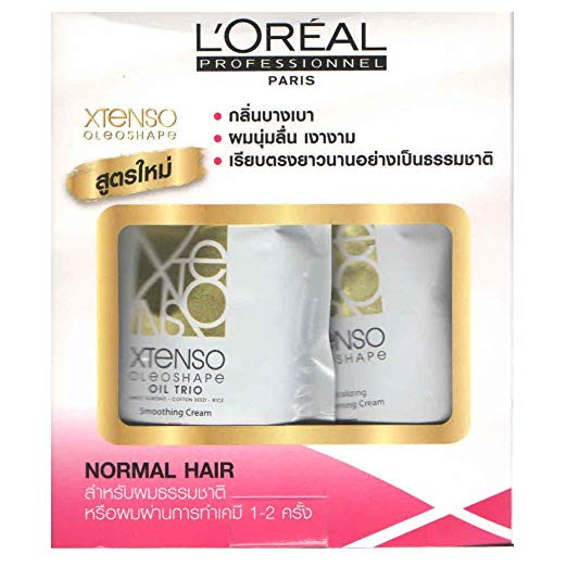 L'Oreal x-tenso Straightener Set for Normal Hair